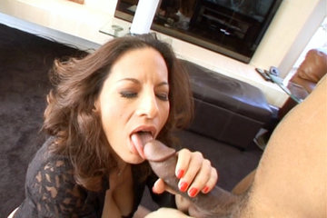 Brian Pumper Slams Melissa Monets Tight MILF Pussy In This Hardcore Interracial Scene.