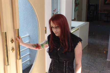 Aubrey Adams seduced by redhead MILF Kylie Ireland in these video clips