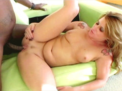 Milf butthole fuck rough by a black cock. Milf booty have sex cruel by a black penish until she moans