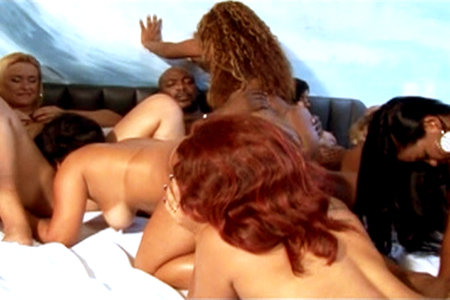 Brazilian apple bottom orgy party with Justin Slayer and Nat Turnher
