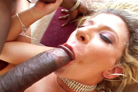 Sarah Jay gets fucked hard by Justin Slayers black cock