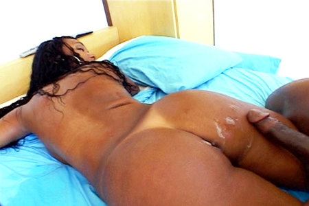 Wild round ass gets fucked by a big ebony shaft from Black Dick Round Ass