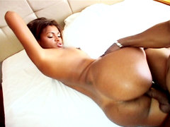 A dirty prostitute named bianca gets nailed. A dirty whore named Bianca gets nailed by a voluminous black dick