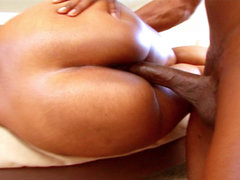 Ebony beauty fucks chocolate shaft. Ebony beauty Butterfly fucks a rough chocolate shaft in these video clips