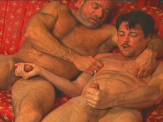 Gay Mature Men : Andrew Addams ass hole gets licked by Muscle Mikes dirty tongue!
