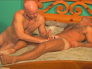 Gay Mature Men : John Marcus breaks out the cockrings and dildos and fucks himself!