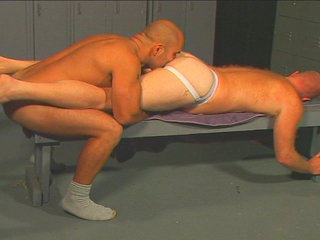 Gay Mature Men : ass getting licked and than getting fucked by big fucker!