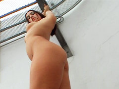 Wild latin slut gets make love. Wild Latin bitch gets have sexual intercourse like an animal by a huge black cock