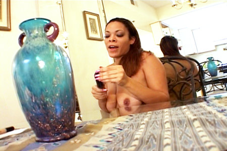 Nice big ass gets the shit fucked out it by huge black cocks. from Black Dick Round Ass