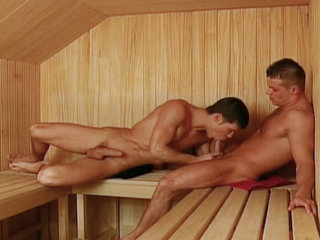 Gay Big Dick : Studs massage each other before sucking and fucking each others hard cocks!