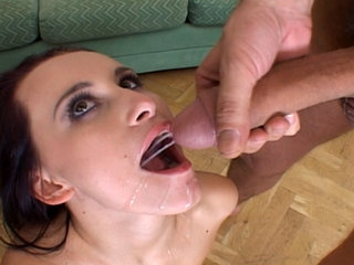 Mature and Young : Claudia Adams all wet for an anal gang bang!