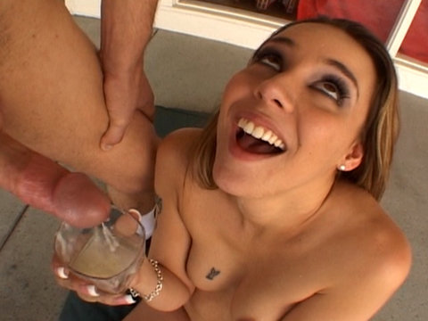 Delilah Strong gets crazy in this gang bang video