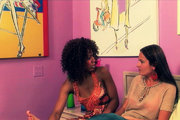 Elexis Monroe and Misty Stone tender moments from Club Sapphic